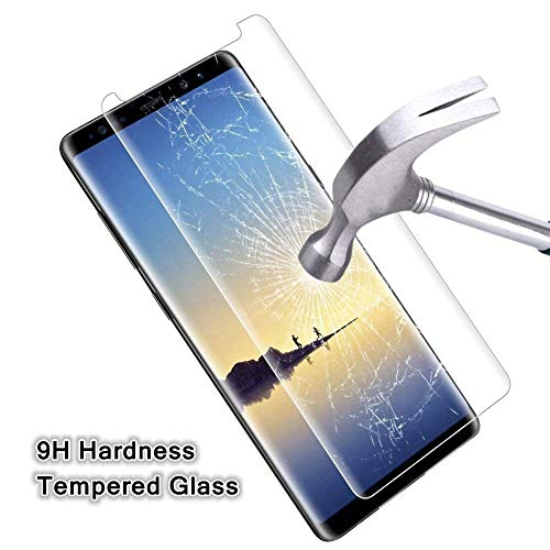 [2 Pack] Samsung Galaxy Note 9 Tempered Glass Screen Protector, invarsely [HD Clear][Anti-Bubble][9H Hardness][Anti-Scratch][Anti-Fingerprint] Screen Protector Note 9 by Acedining (Image #4)