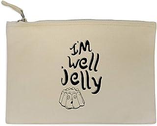 Azeeda 'I'm Well Jelly' Pochette e Clutch / Custodia per Trucco (CL00010636)
