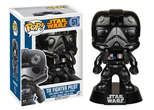 Star Wars Tie Fighter Costume (Star Wars POP! Vinyl Bobble-Head Figure Tie Fighter Pilot 9 cm Funko Mini figures)