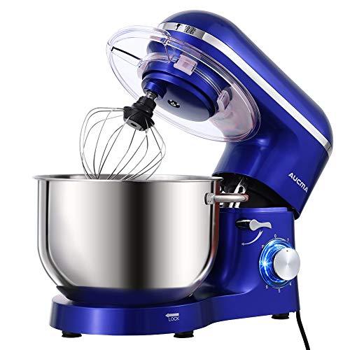 Aucma Stand Mixer,6.5-QT 660W 6-Speed Tilt-Head Food Mixer, Kitchen Electric Mixer with Dough Hook, Wire Whip & Beater…