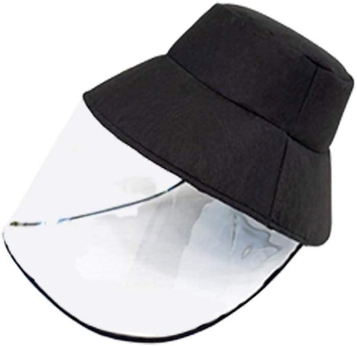HEALLILY - Protector Facial de Seguridad para Saliva, Saliva, Goteo, antisalpicaduras, extraíble, Tapa Transparente para Pescador, Primeros Auxilios para el Rescate al Aire Libre