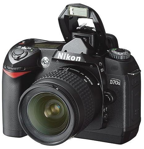 amazon com nikon d70s 6 1mp digital slr camera kit with 18 70mm rh amazon com manual de nikon d7000 en español manual de nikon d700 en español