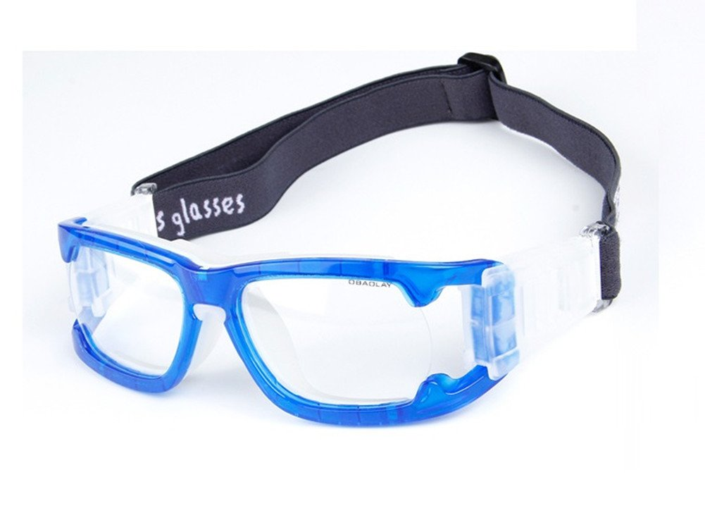 Kagogo Sports Goggles Protective Basketball Glasses Safety Goggles for Adults with Adjustable Strap for Basketball Football Volleyball Hockey Rugby (Blue006) by Kagogo (Image #1)