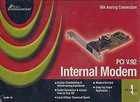 Internal Modem PCI V.92 56k Internal Data Fax Modem