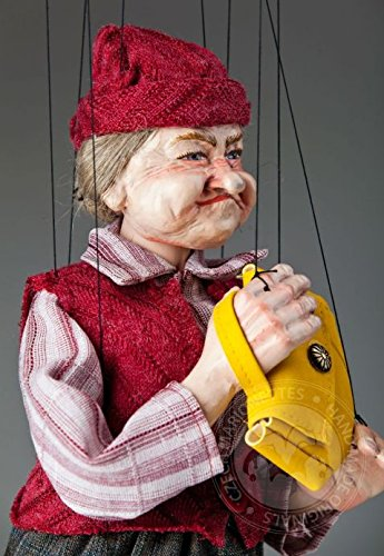 Oma Fanny Tschechische Marionette
