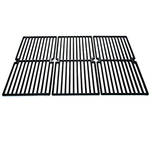 Direct Store Parts DC110 Polished Porcelain Coated Cast Iron Cooking Grid Replacement Brinkmann, Charmglow Gas Grill