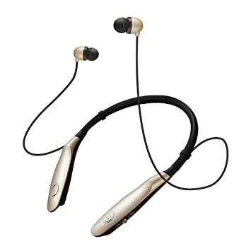 14 Horas De Tiempo De Trabajo Bluetooth Headband Neckband Auriculares Inalámbricos Bluetooth Sport Auriculares Estéreo para iPhone Xiaomi TV: Amazon.es: ...