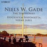 ゲーゼ:交響曲全集 (Gade : The Eights Symphonies/Jarvi) (5CD)