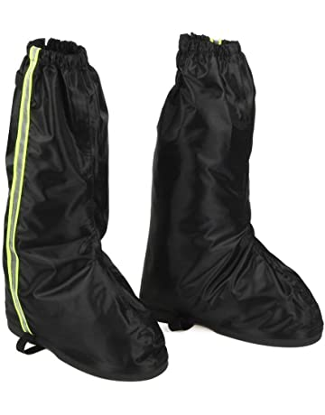 74924d1b49 Anti Slip Rain Shoe Covers Waterproof for Motorcycle Boot Size US 8.5-9.5  and Sneakers