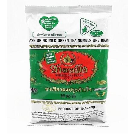 100% Classic hand labeled green tea bag 200g milk tea top taste good quality