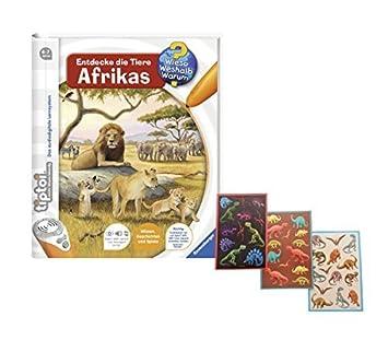 Wieso Weshalb Warum TOP Ravensburger TipToi Buch Entdecke die Tiere Afrikas .