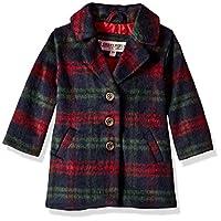 Urban Republic Baby Girls 425gsm Wool Jacket, Hunter Green 24M