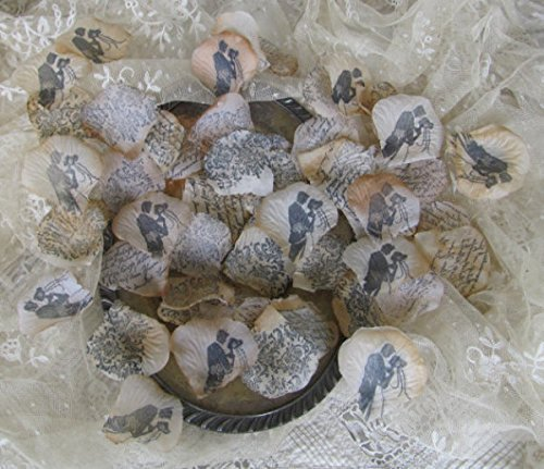 Aisle rose petals, Wedding Bridal Decorative Confetti Artificial Realistic Silk Rose Flower Petals