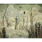 Oil painting 'Albert Bloch,Winter in the Dead Wood,1934-1938' printing on Perfect effect Canvas , 16x19 inch / 41x49 cm ,the best Bathroom decor and Home gallery art and Gifts is this Imitations Art DecorativeCanvas Prints