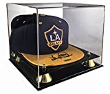 Max Deluxe Acrylic UV Cap / Hat Display Case Holder with Mirror Back