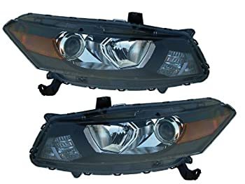 Honda Accord Coupe Headlights Oe Style Only 2 Door Model Headlamps driver/Pas...