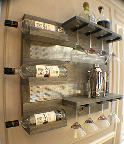 liquor cabinet for wall - 8