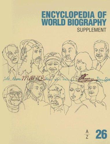 Encyclopedia of World Biography: 2006 Supplement PDF/EPUB download 1414400977