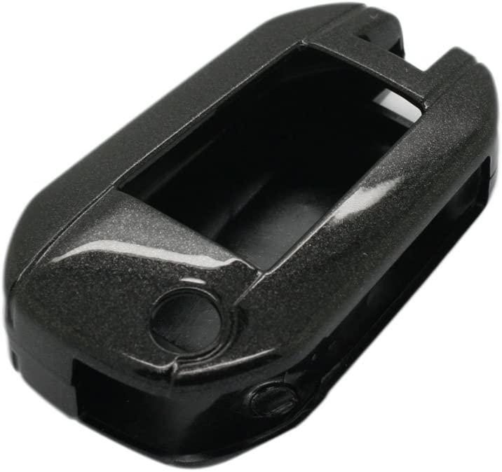 SEGADEN Paint Metallic Color Shell Cover Hard Case Holder Compatible with PEUGEOT CITROEN 3 Button Flip Remote Key Fob SV0300 Gold