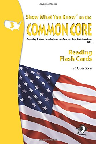 SWYK on the Common Core Reading Gr 3 Flash Cards: Show What