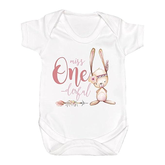 Amazon.com: sobilar Miss onederful 1st cumpleaños de niña ...