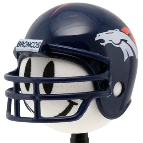 NFL Denver Broncos Football Helmet Antenna Topper Football Fanatics