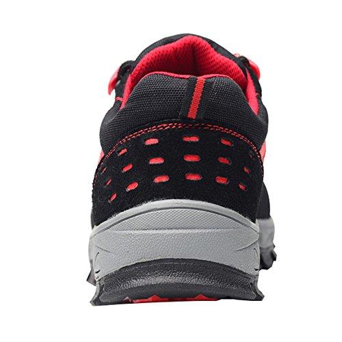 Scarpe Di Sicurezza Delle Donne Ottimali Scarpe Da Lavoro Comp Scarpe In Acciaio Nero A