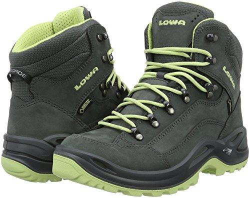 LOWA Renegade GTX Mid Women Outdoor Schuhe grau-mint - 42,5