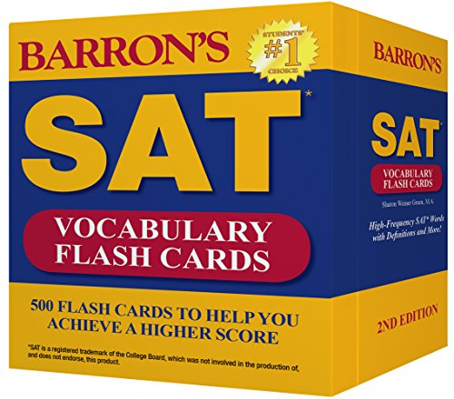 Help Cards - Barron's SAT Vocabulary Flash Cards, 2nd Edition: 500 Flash Cards to Help You Achieve a Higher Score