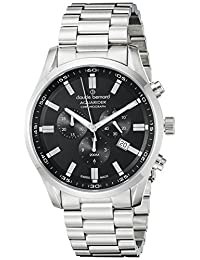 Claude Bernard Men's 10222 3M NV Aquarider Analog Display Swiss Quartz Silver Watch
