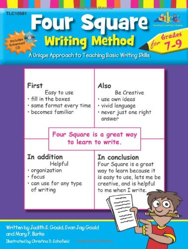 9w Art (Four Square Writing Method Grades 7-9 w/ Enhanced CD)