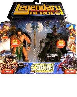 Marvel Conan vs. Wrarrl - Conan and Devourer of Souls