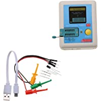 TFT Transistor Tester, LCR-T7 Pantalla gráfica a todo