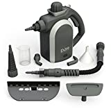 PureClean Handheld Pressurized Steam Cleaner with 9-Piece Accessory Set – Multi-Purpose and Multi-Surface All Natural, Chemical-Free Steam Cleaning for Home, Auto, Patio, More