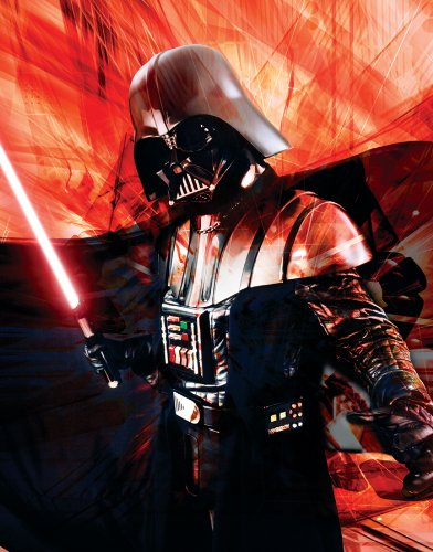 Star Wars Episode III (Revenge of the Sith) Darth Vader Red Sci Fi Movie Film Postcard Poster Print 11x14