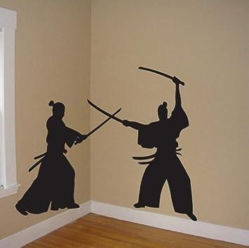 Amazon.com: Smydp Samurai Wall Decal Japan Ninja Poster ...