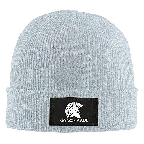para Beanie Ceniza Molon negro mujeres y hombres casco Labe sombrero qBE1I4w
