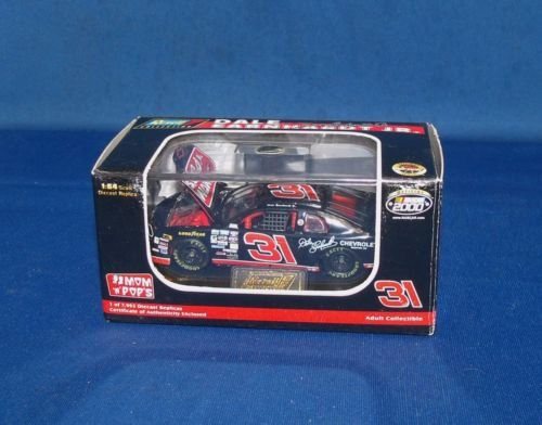 1st Grand National Start 1996 Dale Earnhardt Jr #31 Black Mom 'N' Pops Monte Carlo GM Parts 1/64 Scale Hood Opens Limited Edition WIth Hard Acrylic Display Case & Comes -