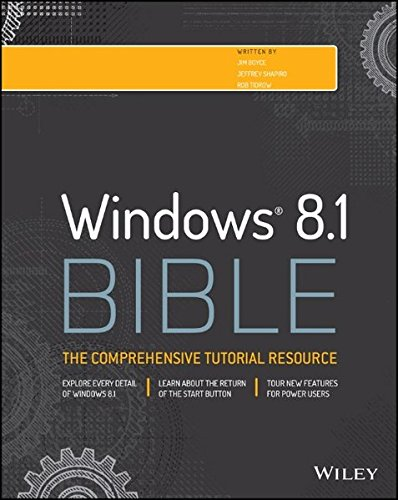 windows 8 bible - 3