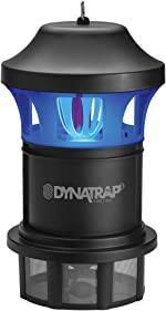 DynaTrap DT1775 Insct Trap AtraktaGlo Light, 1 Acre, Blck