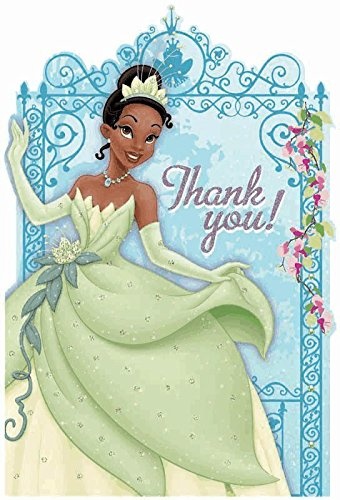 Princess and the Frog Thank-You Cards w/ Envelopes (8ct) (Princess 8 Stack)