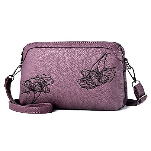 GUANGMING77 Schulter_Small Shoulder Bag Farbe Violet 2ySRfNIp