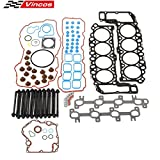 Head Gasket Bolts kit Compatible with DODGE DODGE RAM 1500 PICKUP 4.7L 287CID V8