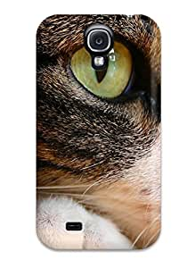 Best Awesome Cat Eyes Flip Case With Fashion Design For Galaxy S4 2657857K11400922