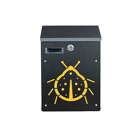 Amazon.com: LXJYMX Mailbox Mailbox, Mail Box, Wall-Mounted ...