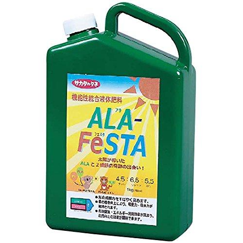 【15本】 アラフェスタ 1kg ALA-FeSTA 万能型液肥 液体肥料 サカタのタネ 代不 B0757J48PD