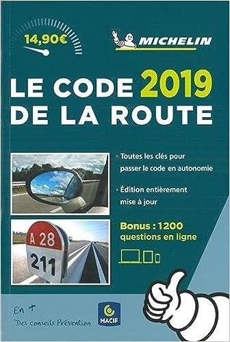 b3e804f51e Amazon.fr - Code de la Route Michelin 2019 - Michelin - Livres