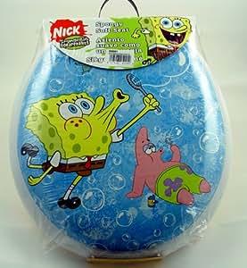 Ginsey Spongebob Bubblemania Soft Toilet Seat