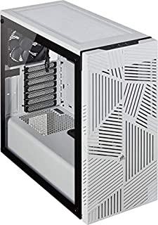 Corsair 275R Airflow Tempered Glass Mid-Tower Gaming Case, White (B07VL5QHMB) | Amazon price tracker / tracking, Amazon price history charts, Amazon price watches, Amazon price drop alerts