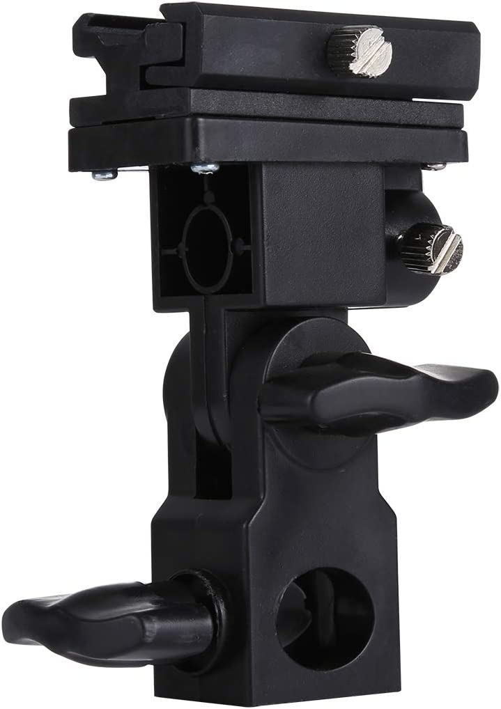 MEETBM ZIMO,B Type Flash Light Stand Bracket Black